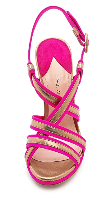Paul Andrew Avellana Faille Sandals