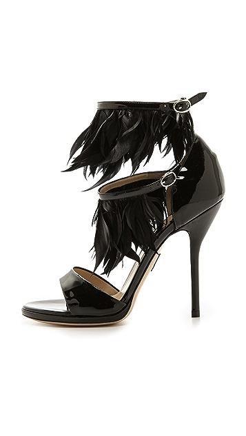 Paul Andrew Amazon Feathered Heels