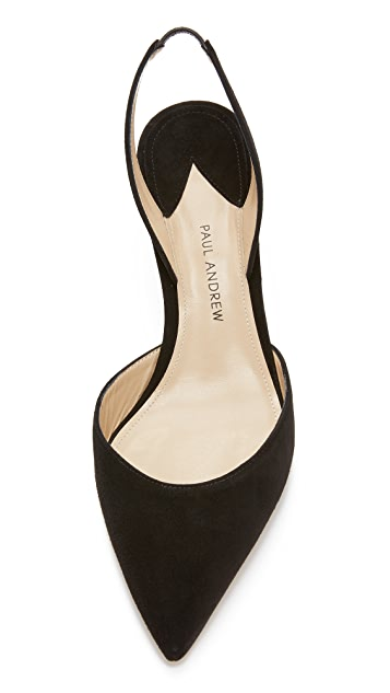 Paul Andrew Rhea Slingback Pumps