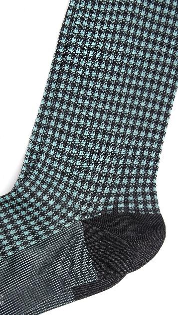 Pantherella Gingham Socks