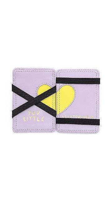 Paris House You Little Heartbreaker Card Holder