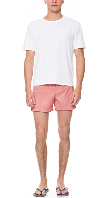 Parke & Ronen Classic Swim Trunks