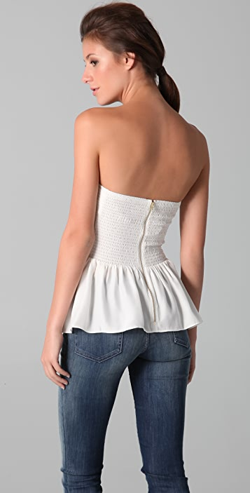 Parker Solid Strapless Top