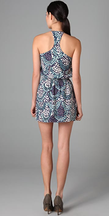 Parker Multi Flower Print Cami Dress