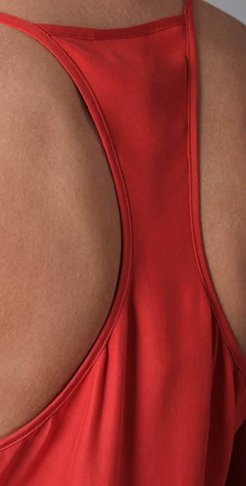 Parker Solid 2 Ruffle Dress