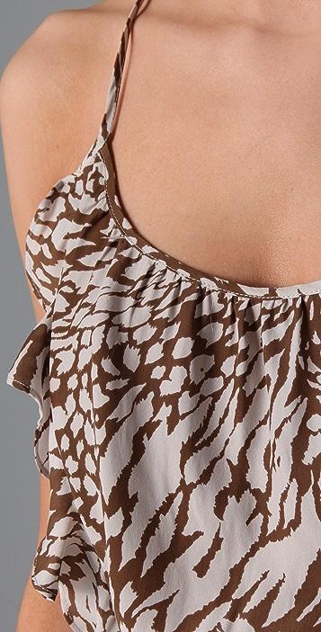 Parker Print 2 Ruffle Dress