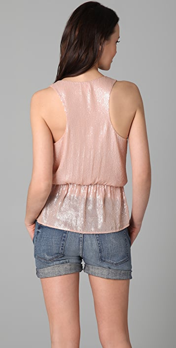 Parker Baby Sequin Wrap Top