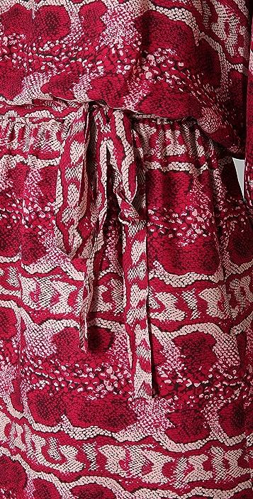 Parker Print Batwing Dress