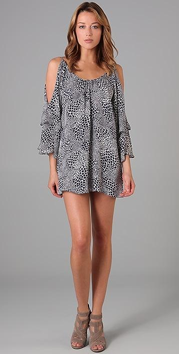 Parker Double Sleeve Print Dress