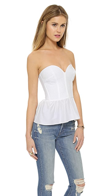 Parker Strapless Bustier Top
