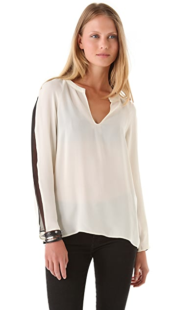Parker Sheer Inset Top