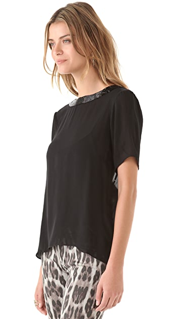 Parker Cross Back Tee Shirt