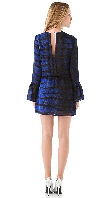 Parker Flare Key Hole Dress