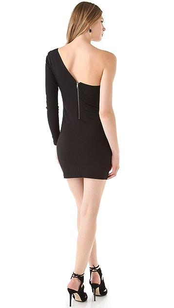 Parker Ruffle One Sleeve Dress