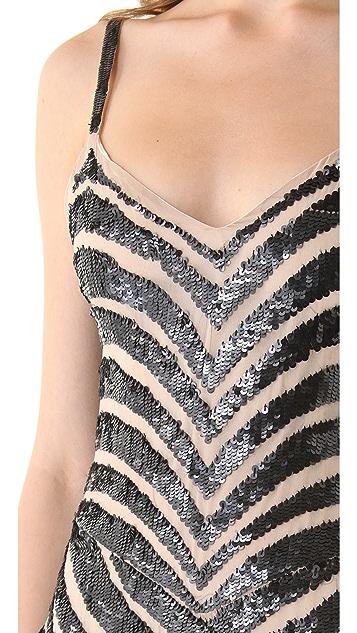Parker Chevron Sequin Dress