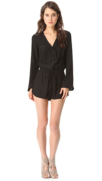 Parker Long Sleeve Romper