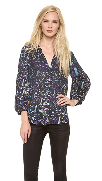 Parker Bluebell Blouse