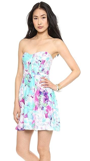 Parker Lily Combo Dress