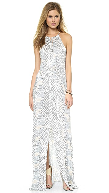 Parker Madera Maxi Dress