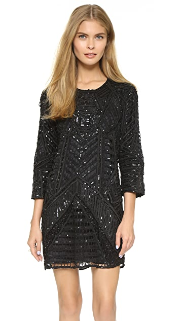 81c33e4d25ea Parker Parker Black Petra Silk Dress | SHOPBOP
