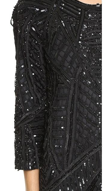 Parker Parker Black Petra Silk Dress