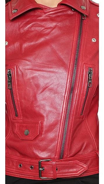 Parker Belfast Leather Jacket