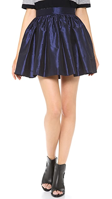 PARTYSKIRTS Navy Party Skirt