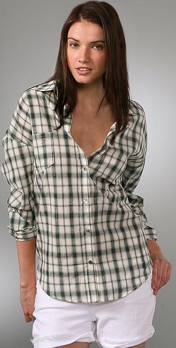 PJK Patterson J. Kincaid Blue Label John's Plaid Button Down Shirt