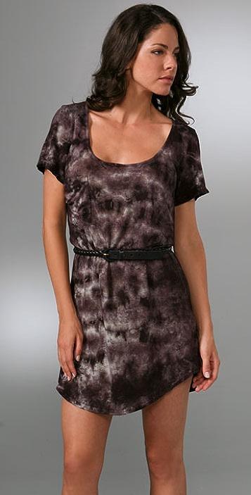 PJK Patterson J. Kincaid Olvera Belted Dress