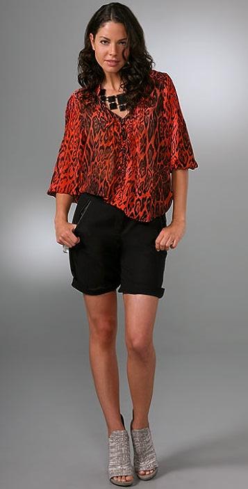 PJK Patterson J. Kincaid Egyptian Tunic Top