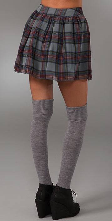 PJK Patterson J. Kincaid Matilda Plaid Skirt