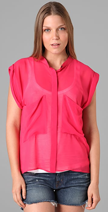 PJK Patterson J. Kincaid Harlow Sleeveless Blouse