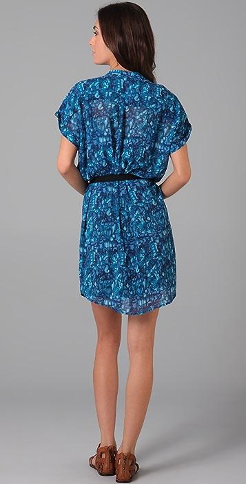 PJK Patterson J. Kincaid Harlow Belted Dress