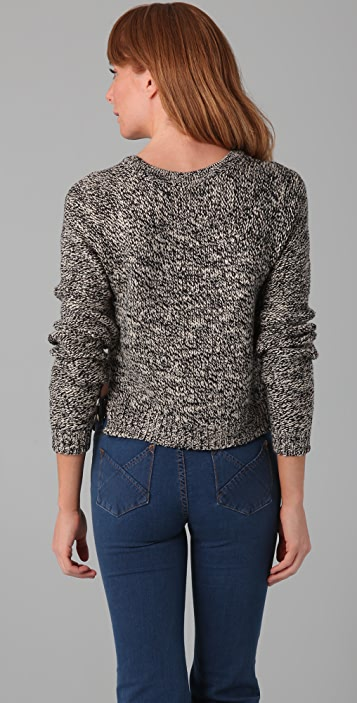 PJK Patterson J. Kincaid Melinda Cropped Sweater