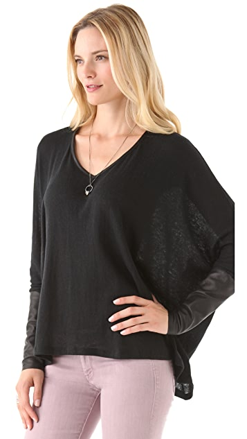 PJK Patterson J. Kincaid Tawny Long Sleeve Tee