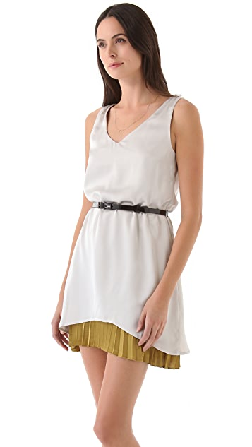 PJK Patterson J. Kincaid Uma Belted Dress