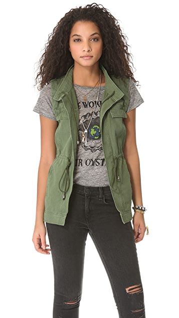 PJK Patterson J. Kincaid Man Repeller x PJK Lost Boys Utility Jacket / Vest