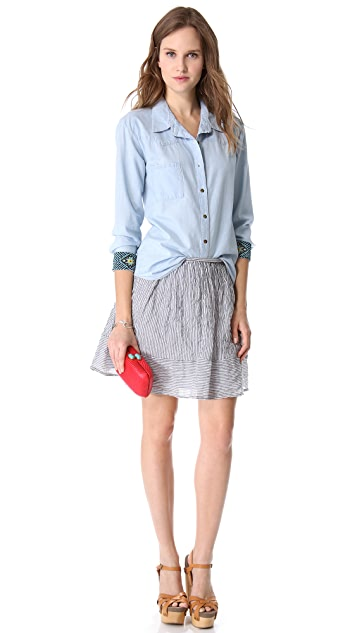PJK Patterson J. Kincaid Man Repeller x PJK Costanza Skirt