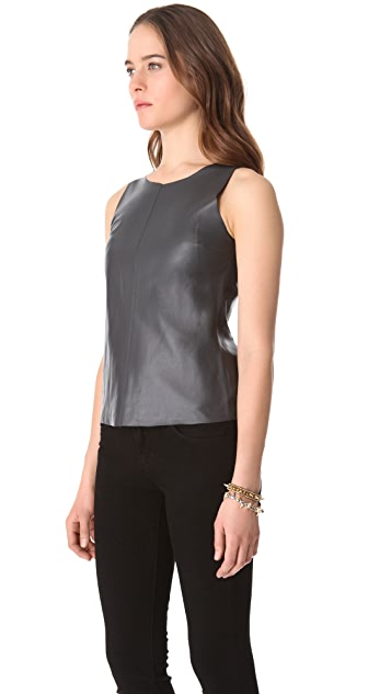 PJK Patterson J. Kincaid Leather Tank