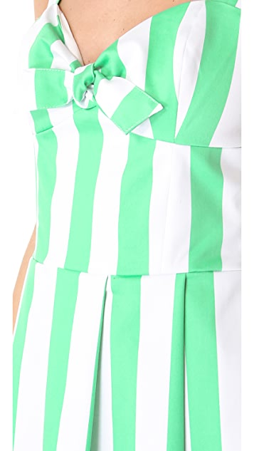 PJK Patterson J. Kincaid Augusta Tie Front Dress