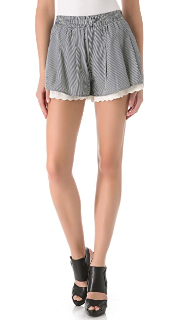 PJK Patterson J. Kincaid PJK x Man Repeller Sterling Shorts