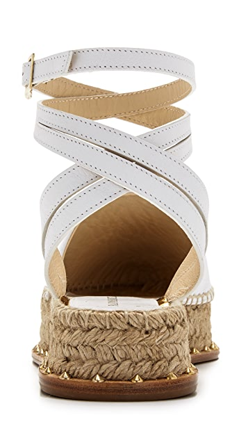 Paloma Barcelo Quille Flat Espadrilles
