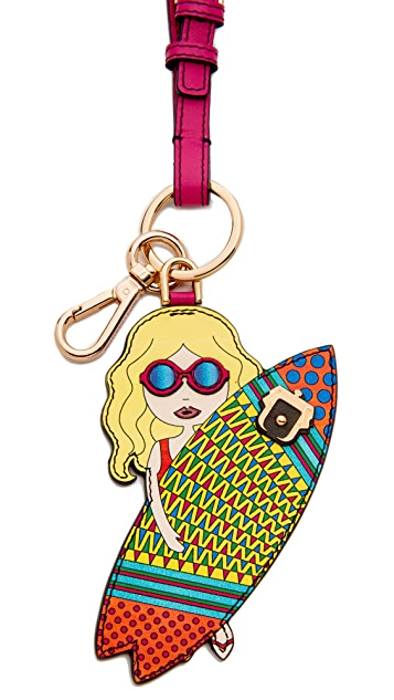 Paula Cademartori Miss Surfer Keychain