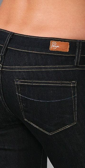 PAIGE Contrast Verdugo Denim Leggings