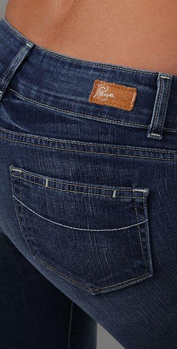 PAIGE Hidden Hills Straight Leg Jeans