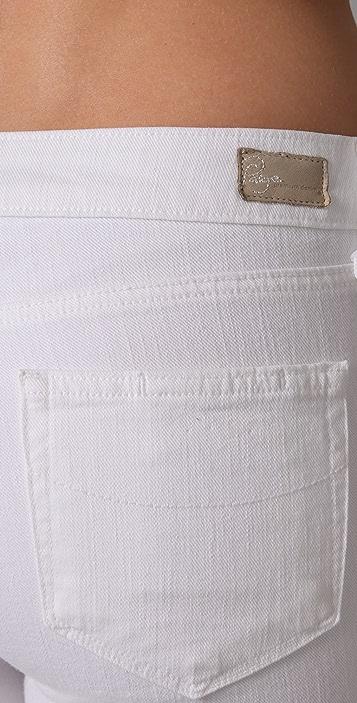 PAIGE Roxbury Cropped Skinny Jeans