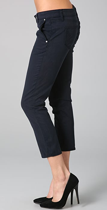 PAIGE Kenya Cropped Trousers