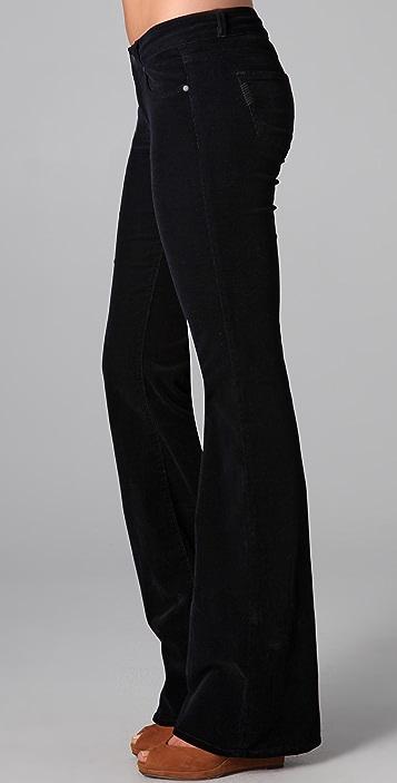 PAIGE Bentley Corduroy Flare Pants