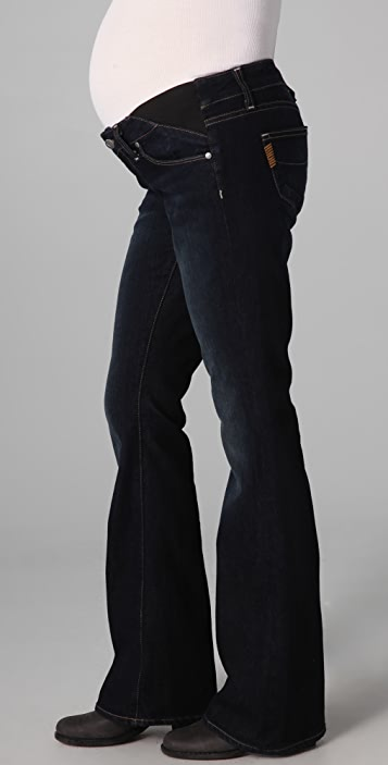 PAIGE Petite Laurel Canyon Maternity Jeans