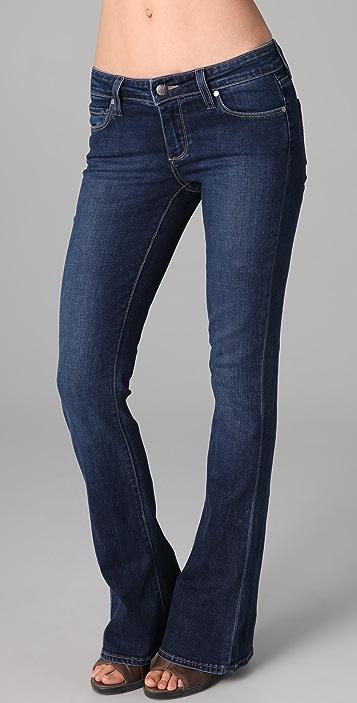 PAIGE Lou Lou Petite Flare Jeans